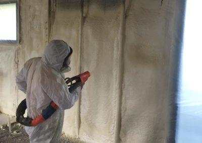 Isol'éco - Isolation mur avec mousse Ardèche